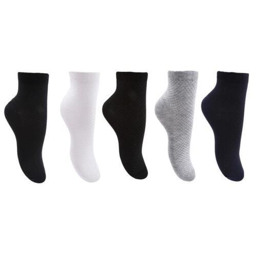 1 Pair Bamboo Fiber Antibacterial Men/'s Socks Business Sock 6A