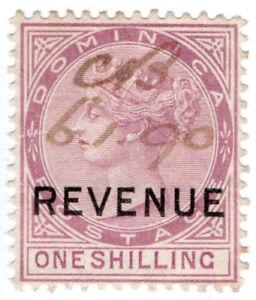 I-B-Dominica-Revenue-Duty-Stamp-1-1886