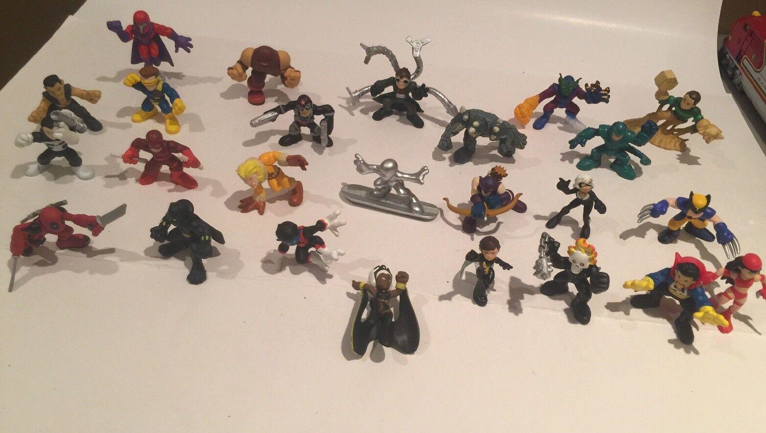 24Marvel Super Hero Squad RARE Ones  STORM NITECRAWLER PANTHER