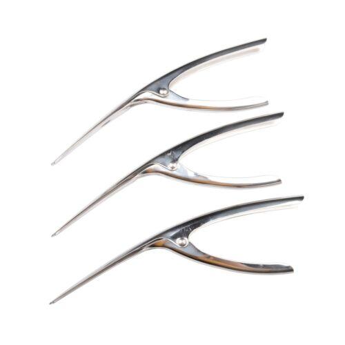 MUZOCT 3Pcs Stainless Steel Prawn Peeler Shrimp Deveiner Peel Cleaning Device...
