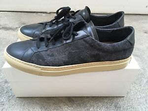 823fa66b4be3 Image is loading Common-Projects-Size-46-Black-Camo-Made-In-