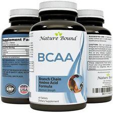 Branch Chain Amino Acids BCAA Pills - Pre Workout Muscle Build Supplement BEST