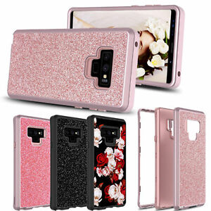 For-Samsung-Galaxy-Note-9-S9-Plus-S10-Glitter-Bling-Shockproof-Full-Cover-Case