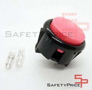 Pulsador-Arcade-30mm-Rosa-faston-Jamma-Push-button-Bartop-Raspberry-SP