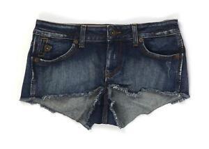 Womens-Topshop-Blue-Shorts-Size-10-L1