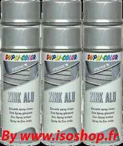 Peinture Couleur Zinc dupli color peinture aérosol primaire teinte couleur zinc alu spray