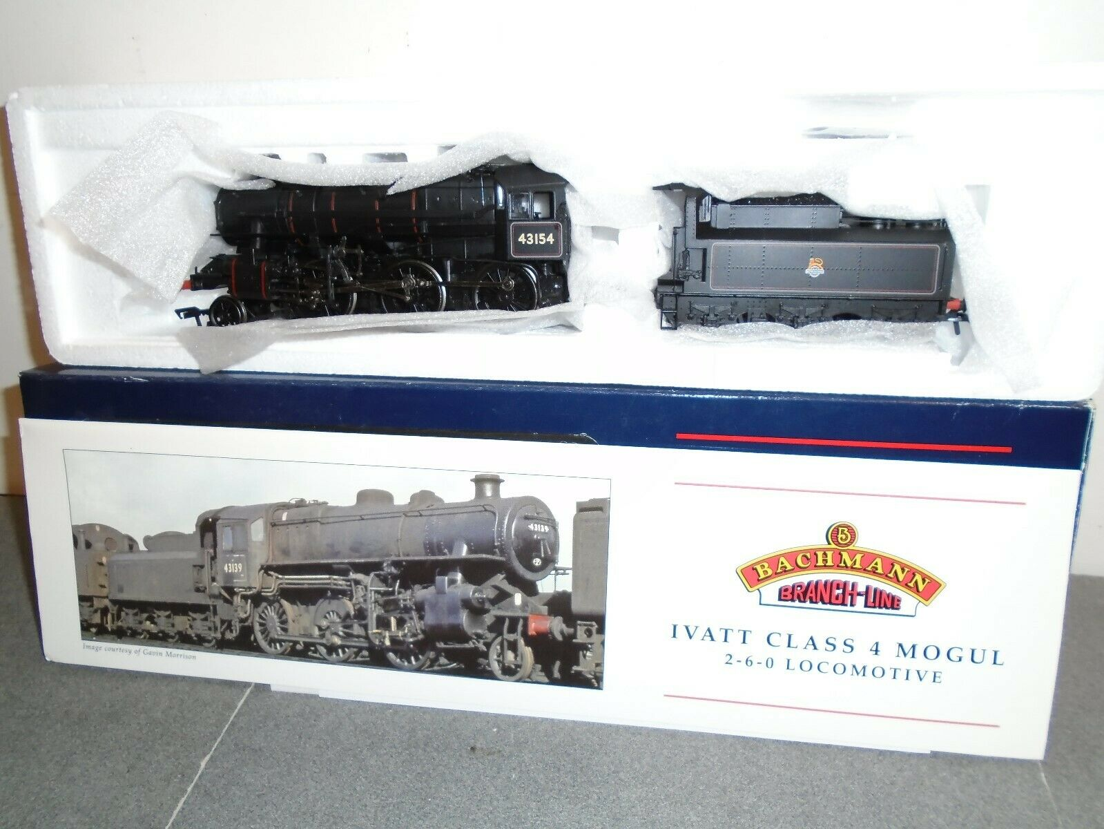 Bachuomon 32586DC Ivatt classe 4 260 with Tablet Catcher EE DCC Fit.Mint scatolaed