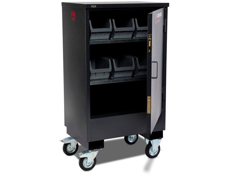 Armorgard Armorgard Armorgard FC2 Fittingstor 800x585x1450mm Mobile Fittings Cabinet a98d5a