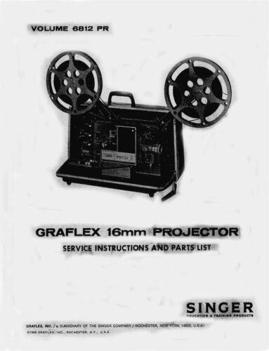 Graflex 700, 800, 900 Series 16mm Service and Parts Manual