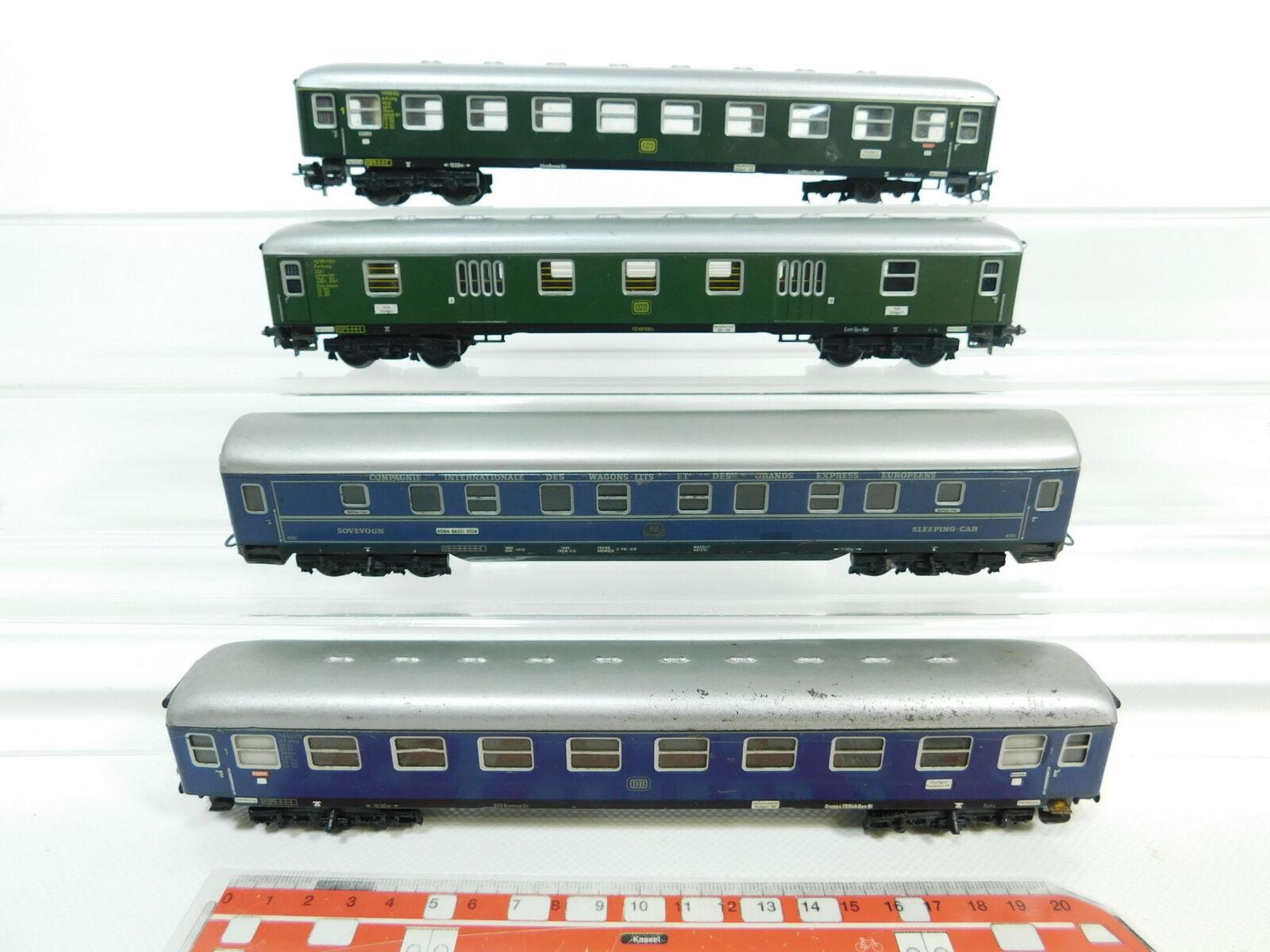 Bg738-2x Märklin h0 ac Hobbyist-Passenger Car a4ümg DB  CIWL 4581 + pw4ymg
