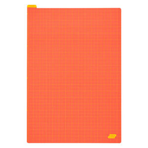 Hobonichi-Pencil-Board-Warm-Red-X-Yellow-Sottopagina-For-Cousin-A5