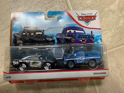 Mattel Disney Pixar Cars APB /& Broadside 2-Pack