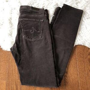 AG-Adriano-Goldschmied-Women-039-s-The-Stevie-Slim-Straight-Corduroy-Pants-Size-27