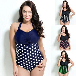Women One Piece Swimwear Beach Dress Bathing Suit AU Size 14 16 18 ... c97038135b