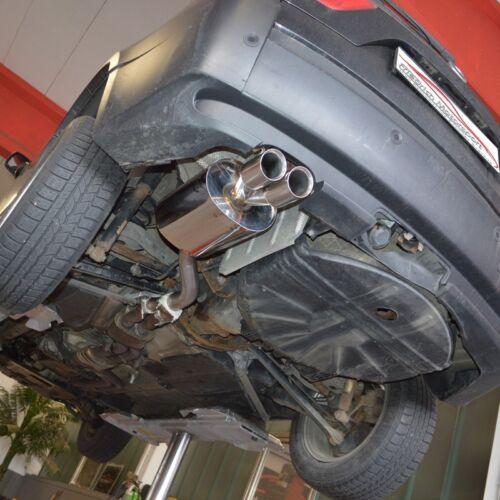 Edelstahl Sport Auspuff BMW X3 E83 Diesel