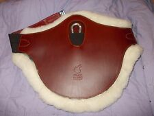 "new 46"" frank baines sheepskin stud girth"