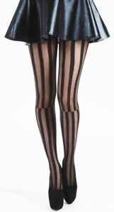 Black-Interesting-Tights-Diamond-Stripe-Pothole-Zig-Zag-Fishnet-Pamela-Mann