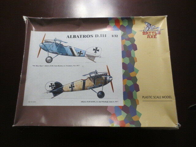 1  32 slåss Axe Albatros D.III OOP RARE