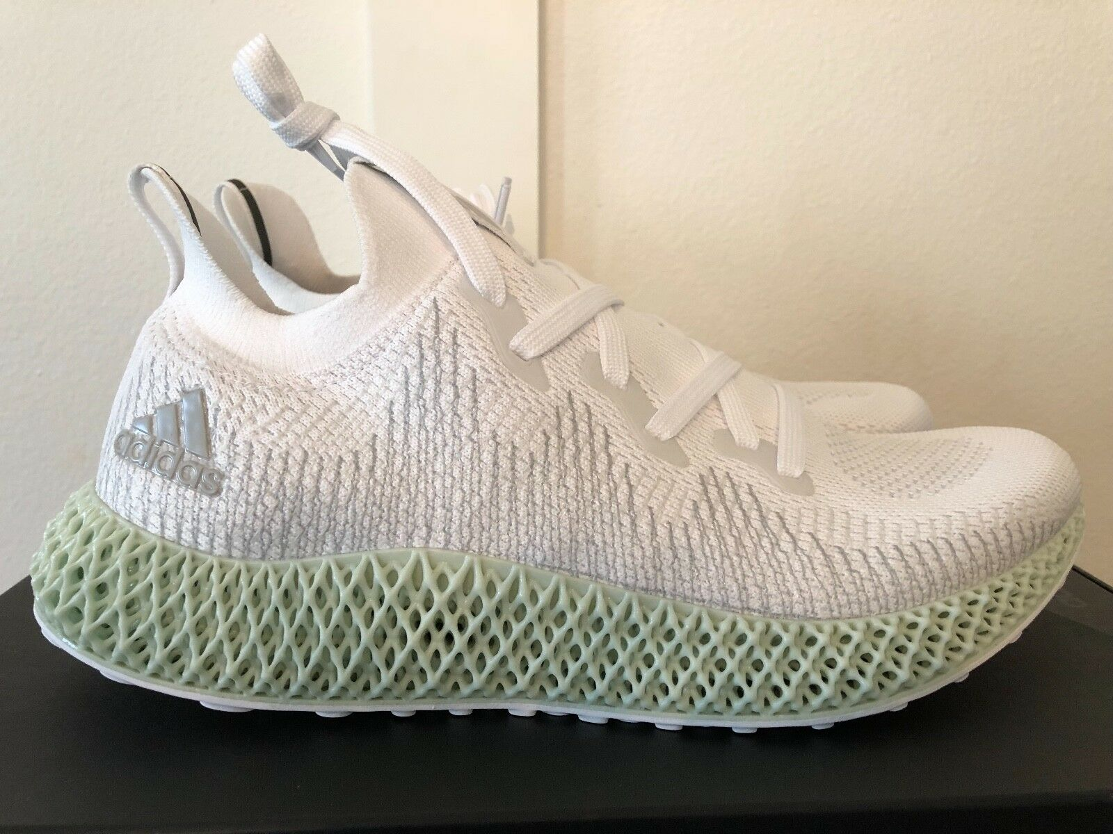 NEW Adidas Alphaedge Futurecraft 4D Ash Green Mens US 9   FREE SHIPPING