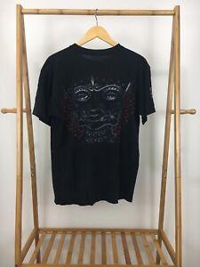 RARE-VTG-TOOL-10-000-Days-Black-Eyes-Maynard-Metal-Short-Sleeve-T-Shirt-Size-L