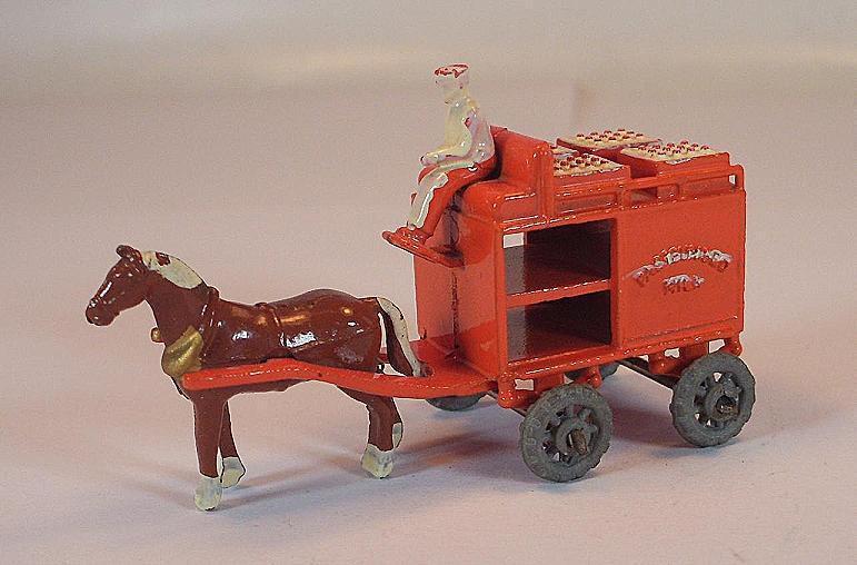 Matchbox Regular Wheels Nr. 7 A Horse Drawn Float Orange MTW Lesney  123  | Moderne und stilvolle Mode