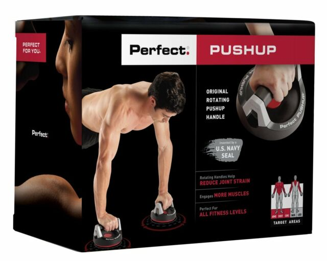 Perfect Pushup Bars Handles Stands, Home Gym Fitness Exercise Workout Training