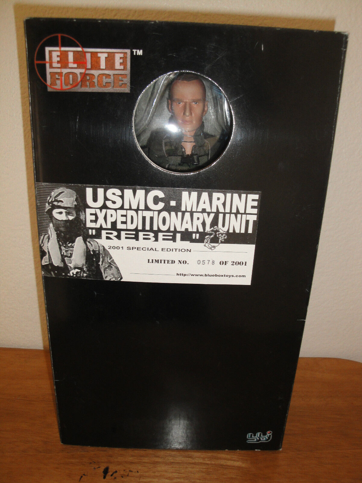 1 6 OR 12 INCHES DRAGON,blueE BOX TOYS MARINE EXPEDITIONARY UNIT REBEL