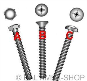5 St ISO 7380 M10 Innensechskant Linsenkopfschrauben M 10x40 A2 Edelstahl