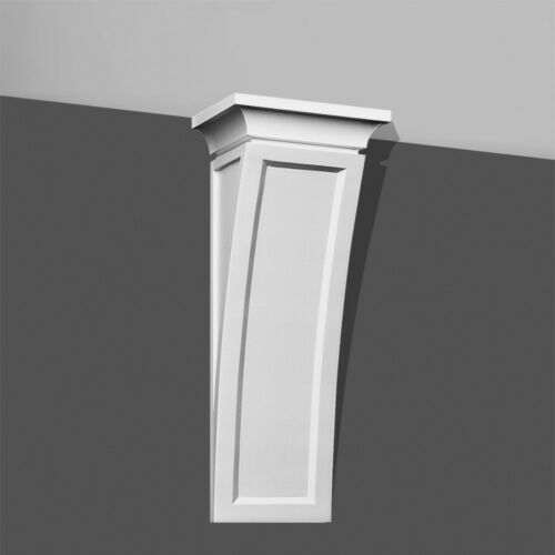 """Modern Concave Corbel 20/"""" Long bracket for wall shelf ceiling stairs furniture"""