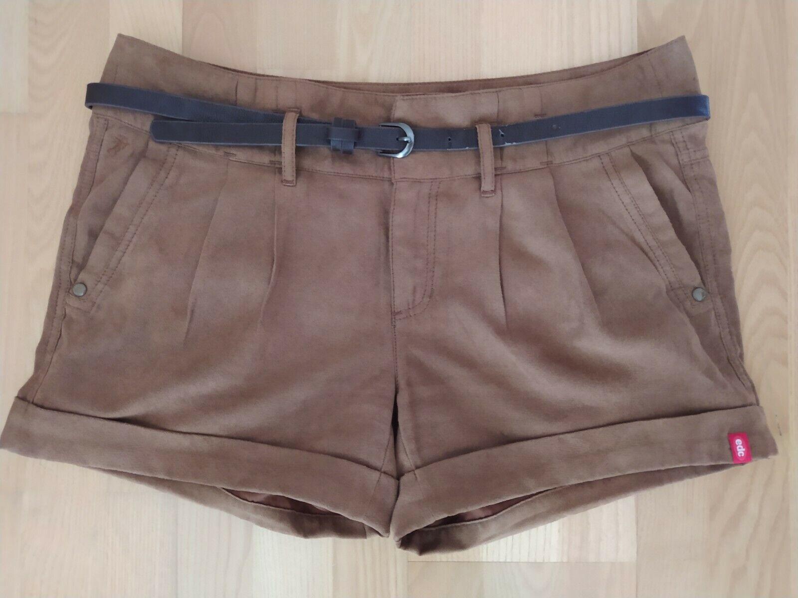 Damen Velour Shorts von Esprit, Caramel Braun, Größe 38, Super Zustand 💜💙🧡