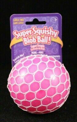Behendig Super Squishy Blob Balls! - Grinstudios - Latex Free - White Mesh - Pink Modieuze En Aantrekkelijke Pakketten