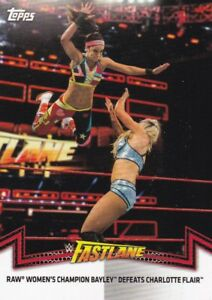 2018-Topps-Wwe-de-Mujer-Division-Cartas-Coleccionables-Momments-RAW-5-Bayley