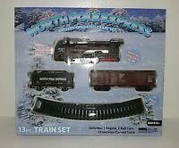 North Pole Express 13pc Train Set Battery Powered Headlight Christmas Gift
