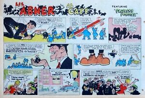 Li-039-l-Abner-by-Al-Capp-large-half-page-color-Sunday-comic-November-23-1969