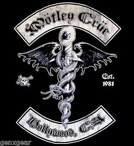 MOTLEY-CRUE-cd-lgo-DR-FEELGOOD-HOLLYWOOD-Official-SHIRT-MED-new