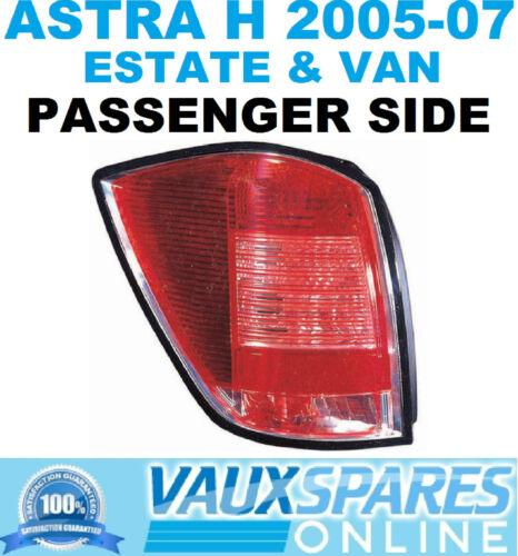 ASTRA H ESTATE /& VAN REAR BACK LIGHT PASSENGER NEAR SIDE SPORTIVE CDTI 2005-07