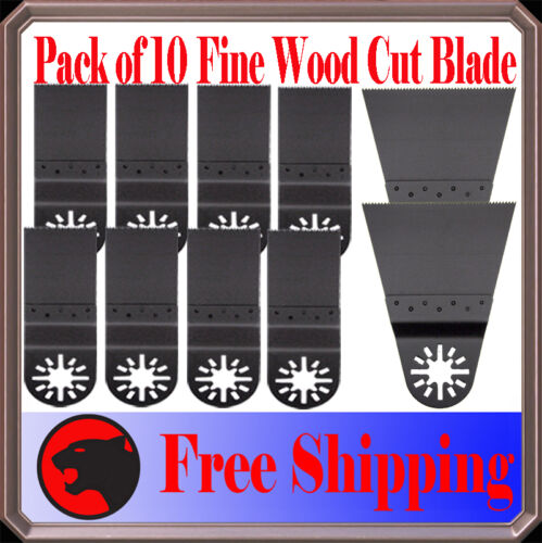 10 Fine Wood Oscillating Multi Tool Saw For Blade Milwaukee Ridgid Jobmax  Ryobi