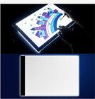 1 Set A4 LED Artist Thin Art Stencil Board Light Tracing Drawing Box Board USSA