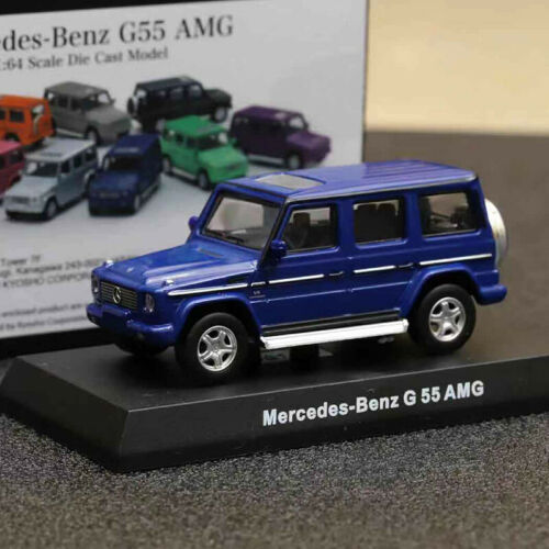 Kyosho 1:64 Scale Mercedes-Benz G55 AMG Diecast Car Model Collection NEW IN BOX