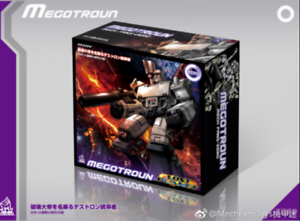 New. MF -0 megatron. megatron commander gift box edition
