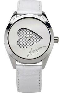Morgan-Designer-White-Leather-Ladies-Watch-Heart-Dial-Valentines-Gift-M1092w