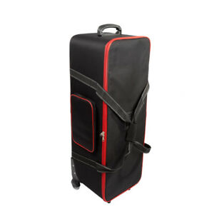 New Roller Bag For Photography Photo Video Studio Light Wheeled Top Quality UK