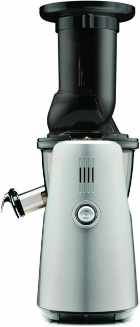 Kuvings 240W Vertical Low-Speed Masticating Whole Slow Juicer Silver C7000S NEW