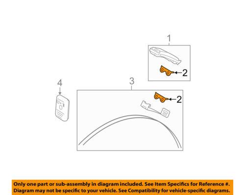 1 6L2Z14C202B FORD OEM TPMS Tire Pressure Monitor-Sensor Retainer Clip