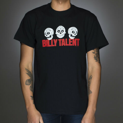 OFFICIAL Billy Talent Three Skulls T-shirt NEW Licensed Band Merch ALL SIZES
