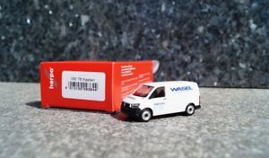Herpa-VW-t6-STATION-WAGON-BUS-034-Wasel-Service-veicolo-NUOVO-OVP-1-87