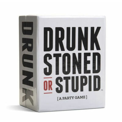 Brand New *DRUNK STONED OR STUPID [A Party Game] Card Game Party Game Xmas Gift