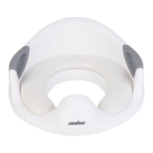 Handle Splash Guard Kids Potty Training Toilet Seat Ring Soft Cushion Anti Slip