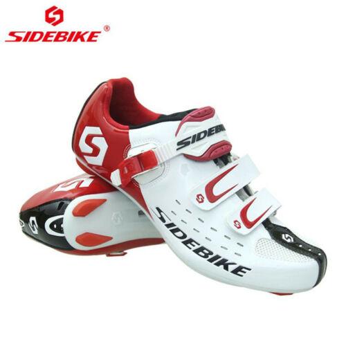 SIDEBIKE Men Athlet Cycling Bike Shoes Road Bike self locking shoe Sneaker