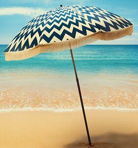 Classic-Royal-Blue-Chevron-Beach-Umbrella-by-beachBRELLA-60-034-round-100-UV